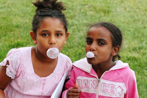K B bubble gum