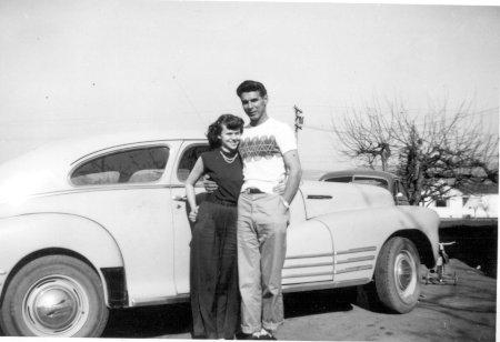 Russ' parents - circa 1940's