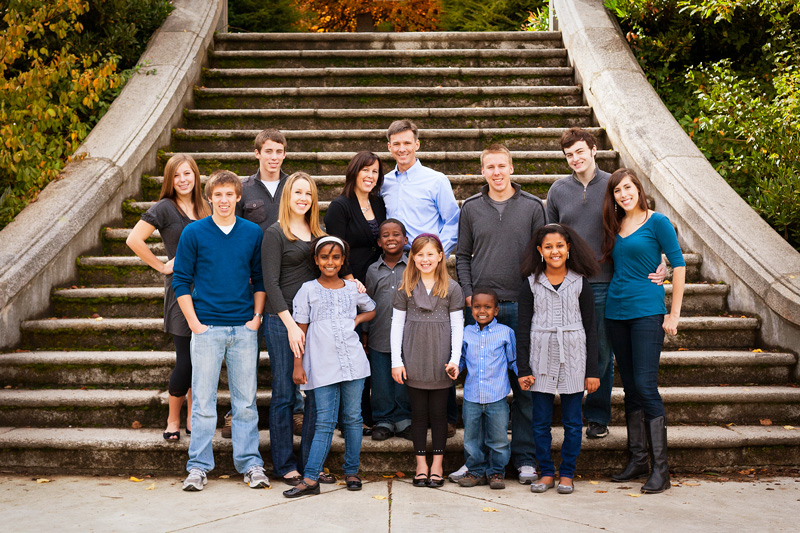 Qualls Family Christmas Pictures 2003 - 2012 - One Thankful Mom ...