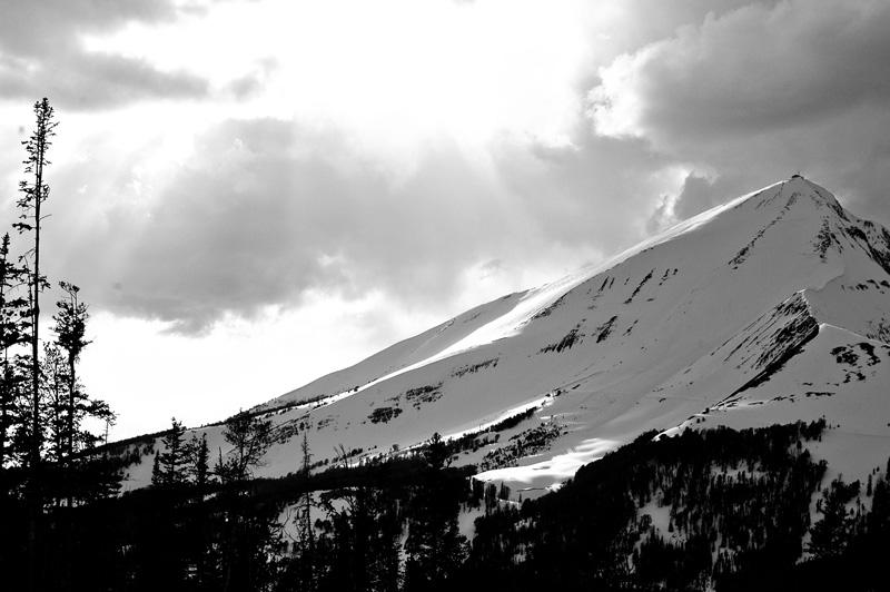 view Montana mountain